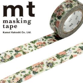 マスキングテープ mt カモ井加工紙 mt ex1p 小花・ボタニカルアート(15mmx10m)MTEX1P103