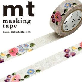 マスキングテープ mt カモ井加工紙 mt ex1p レース・カロチャ(15mmx10m)MTEX1P105