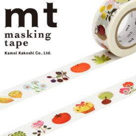 マスキングテープ mt カモ井加工紙mt x アラン グレ植物 (20mmx10m)MTALAN03・1巻
