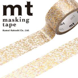 マスキングテープ mt カモ井加工紙 mt fab1p 粒子(15mmx3m ミニ紙管)MTHK1P08