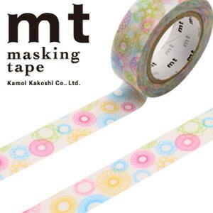 マスキングテープ mt カモ井加工紙 mt ex 1p スピログラフ(15mmx10m)MTEX1P110
