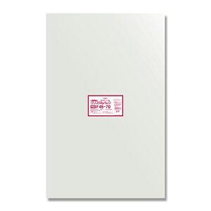 OPP袋 クリスタルパック HEIKO シモジマ POD F45-70(フレームシール) 50枚 透明袋 梱包袋 ラッピング ハンドメイド