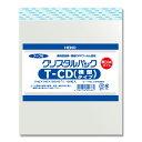 クリスタルパック HEIKO シモジマ テープ付き・厚口タイプOPP袋(透明袋) 04T-CD(横型)(T14-15.5) (100枚入)