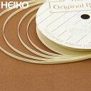 リボン ラッピング HEIKO/シモジマ シングルサテンリボン 幅3mmx20m ベージュ