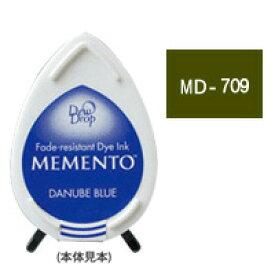 スタンプパッド ツキネコ メメント デュードロップ MD-709 ノーザンパイン