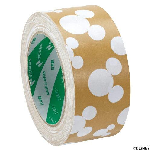ニチバンクラフトテープ(柄入りクラフトテープ)ディズニー 白 茶 KFD-3051 50mm×35m