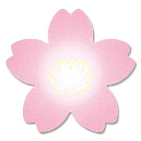 HEIKO シモジマ ロールシール 紅桜 25×26mm 500片