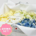 【送料無料!】フラワーシャワーに フラワーペタルセット サムシングブルー(4色・8袋入り)