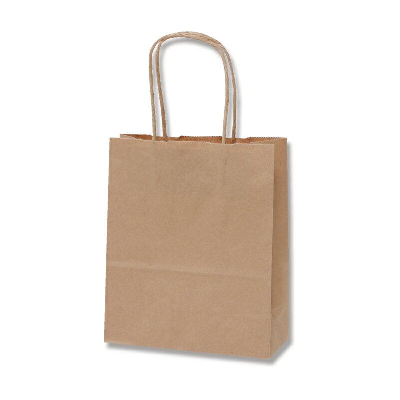 紙袋 手提げ HEIKO シモジマ 25チャームバッグ20-1 未晒無地 50枚