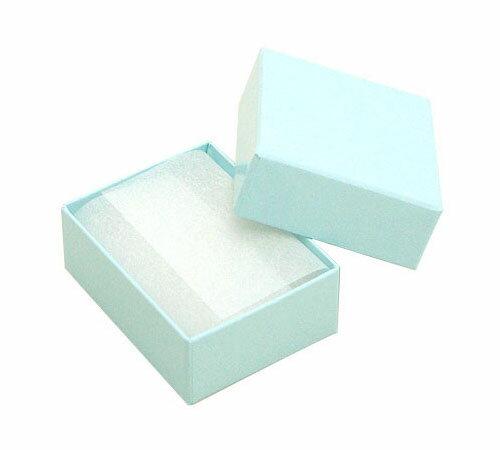ジュエリーケースアクセサリーケース RE87(紙製) ブルー フリータイプ