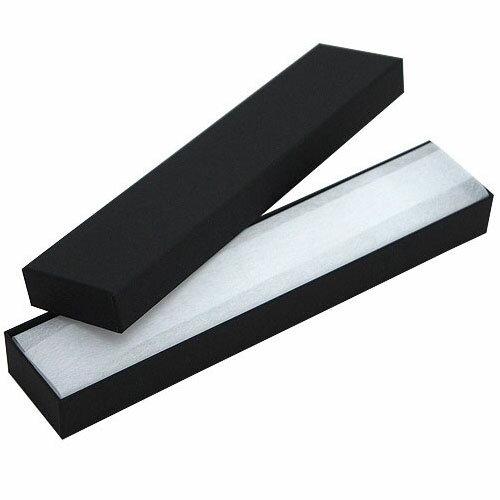 ジュエリーケースアクセサリーケース N89(紙製) 黒 フリータイプ
