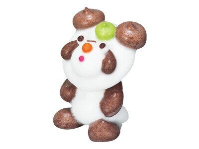 【 メレンゲ人形 パンダ 】 デコレーション トッピング 飾り ケーキ 製菓材料 クリスマスケーキ バースデーケーキ かわいい オシャレ 人形▲【夏季クール便】