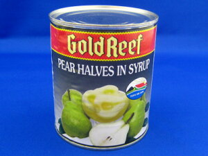 ゴールドリーフ 洋梨ハーフ 2号缶(440g)