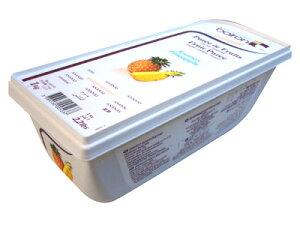 【 ボワロン ピューレ アナナ(パイナップル)1kg 冷凍 】 ピューレ ピュレ 製菓材料 料理 フランス料理 焼菓子 タルト