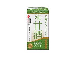 プラス糀 米糀からつくった糀甘酒LL 抹茶ブレンド 125ml