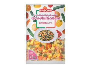 【冷凍】カゴメ 彩り野菜ミックス 1kg