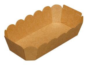 テーパートレイ AT-4 未晒 バレンタイン 手作り お菓子 パッケージ ギフトボックス 箱 ラッピング ラッピング用品 プレゼント 業務用