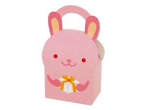 アニマルBOX 子うさぎ バレンタイン 手作り お菓子 パッケージ ギフトボックス 箱 ラッピング ラッピング用品 プレゼント 業務用