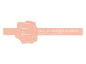 【ネコポス対応 送料無料】【 フレキシブルシール#01 ピンク 】 ラッピングシール ラッピング シール ステッカー ラッピング用品 ギフトラッピング ギフト プレゼント 贈り物 消耗品 おし