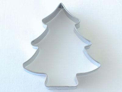 BIRKMANNクッキー型 ベーシッククリスマスツリー 8cm