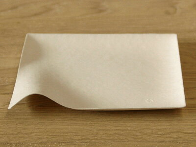 【 WASARA ワサラ 角皿(中) 100枚入 】 紙皿 紙の皿 紙の器 使い捨て アウトドア パーティ 容器 オシャレ