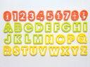 TC クッキー抜き型アルファベット&数字