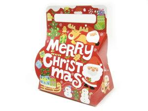 【少量販売】ギフト箱 にぎやかクリスマスキャリー