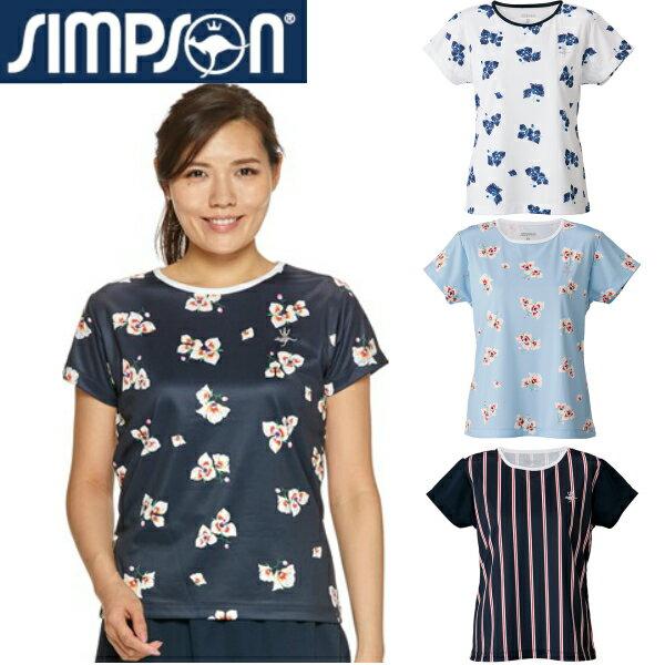 シンプソン(Simpson) テニスウェア レディース ゲームシャツ STW-92100