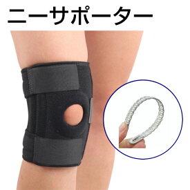 【P5倍】サポーター 膝 保護 ニーサポーター スポーツ オスグッド対策 痛み 軽減 送料無料