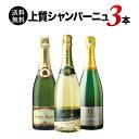 【送料無料】「9」上質シャンパーニュ3本セット 送料無料 スパークリングワインセット【ギフト・プレゼント対応可】【ギフト ワイン】…