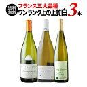 【送料無料】フランス三大品種 ワンランク上の上質白3本セット 送料無料 白ワインセット【ギフト・プレゼント対応可…