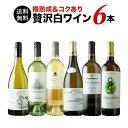 【送料無料】樽熟成&コクあり白ワイン6本セット 送料無料 白ワインセット【ギフト・プレゼント対応可】【ギフト ワイ…