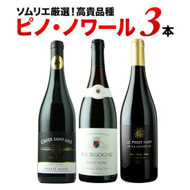 SALE「10/4セット内容変更」今だけ1,000円OFF!ピノ・ノワール3本セット 第16弾 赤ワインセット 【12本単位のご購入で送料無料/ギフト・プレゼント対応可】【ギフト ワイン】【ソムリエ】【家飲み】【ハロウィン】