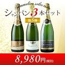 シャンパン3本セット 第5弾 シャンパンセット【YDKG-t】【12本単位のご購入で送料無料/ギフト・プレゼント対応可】【ギフト ワイン】【…
