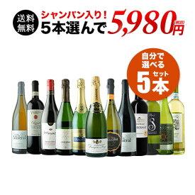 【送料無料】SALE!自分で作るワイン収穫5本セット 送料無料 ワインセット【ギフト・プレゼント対応可】【ギフト ワイン】【ソムリエ】【家飲み】【ハロウィン】