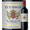 SALE「4」訳あり!エキュソン 2019年 フランス ボルドー マルゴー 赤ワイン フルボディ 750ml【12本単位のご購入で送…