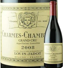 シャルム・シャンベルタン ルイ・ジャド 2008年 フランス ブルゴーニュ 赤ワイン フルボディ 750ml【12本単位のご購入で送料無料】【ギフト ワイン】【お歳暮 ギフト】