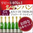 ジョリー・ド・トレビュイ・ブリュット フランス シャンパーニュ シャンパン
