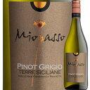 ミオパッソ・ピノ・グリージョ ワイン・ピープル 2015年 イタリア シチリア 白ワイン 辛口 750ml 【YDKG-t】【12本単…
