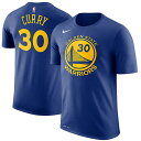 NBA ステフィン・カリー ネーム&ナンバーTシャツ ウォリアーズ(ブルー) Nike Stephen Curry Golden State Warriors Royal Name & Nu…