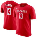 NBA ジェームズ・ハーデン ネーム&ナンバーTシャツ ロケッツ(レッド) Nike James Harden Houston Rockets Red Name & Number T-Shirt