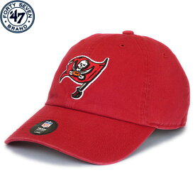 NFL フランチャイズ キャップ バッカニアーズ(レッド) '47 Brand Tampa Bay Buccaneers Franchise Slouch Cap - Red