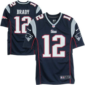 NFL Gameジャージ トム・ブレイディ ペイトリオッツ(ネイビー) Nike Tom Brady New England Patriots Game Jersey - Navy Blue