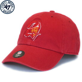 NFL フランチャイズ スローバックキャップ バッカニアーズ(レッド) '47 Brand Tampa Bay Buccaneers Franchise Throwback Cap - Red