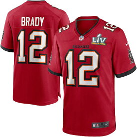 NFL第55回スーパーボウル Gameジャージ トム・ブレイディ バッカニアーズ(レッド) Nike Tom Brady Tampa Bay Buccaneers Red Super Bowl LV Bound Team Color Game Jersey
