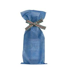【送料お得k】_ボトルラッピングバッグ リボン付き ブルー 10セット入り【RCP】【ワイングラス/カトラリー】【バー/カクテル】