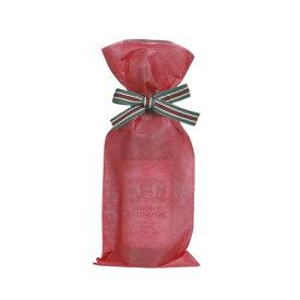 【送料お得k】_ボトルラッピングバッグ リボン付き レッド 10セット入り【RCP】【ワイングラス/カトラリー】【バー/カクテル】