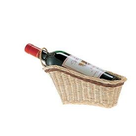 【送料お得】_ワインバスケット フルボトル用 籐風パニエ 樹脂製【RCP】【ワイングラス/カトラリー】【バー/カクテル】