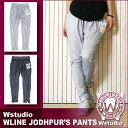 Wstudio☆ダブルスタジオ☆【全2色】WLINE JODHPUR'S Pants☆