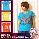 Wstudio☆ダブルスタジオ☆【全3色×2サイズ】DOUBLE PENGUIN Tee☆